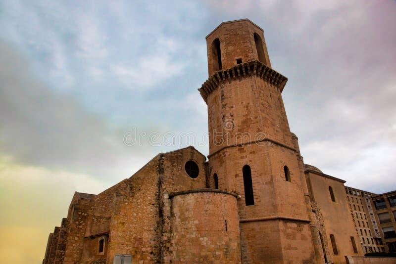 Церковь Laurent святой, Марсел, Франция. стоковая фотография rf