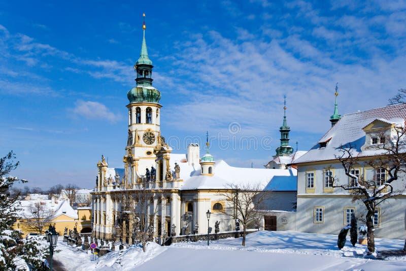 Церковь Loreta, Hradcany, Прага, чехия стоковые изображения