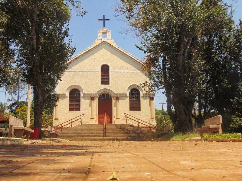 Церковь luzia Санта стоковое изображение rf