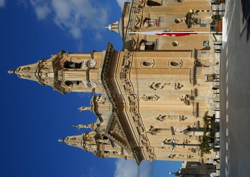 церковь malta стоковое фото rf