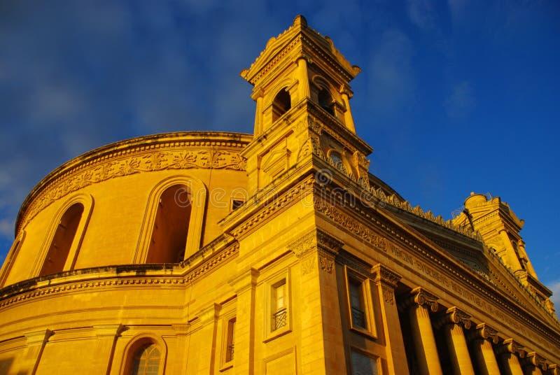 церковь malta стоковые фотографии rf