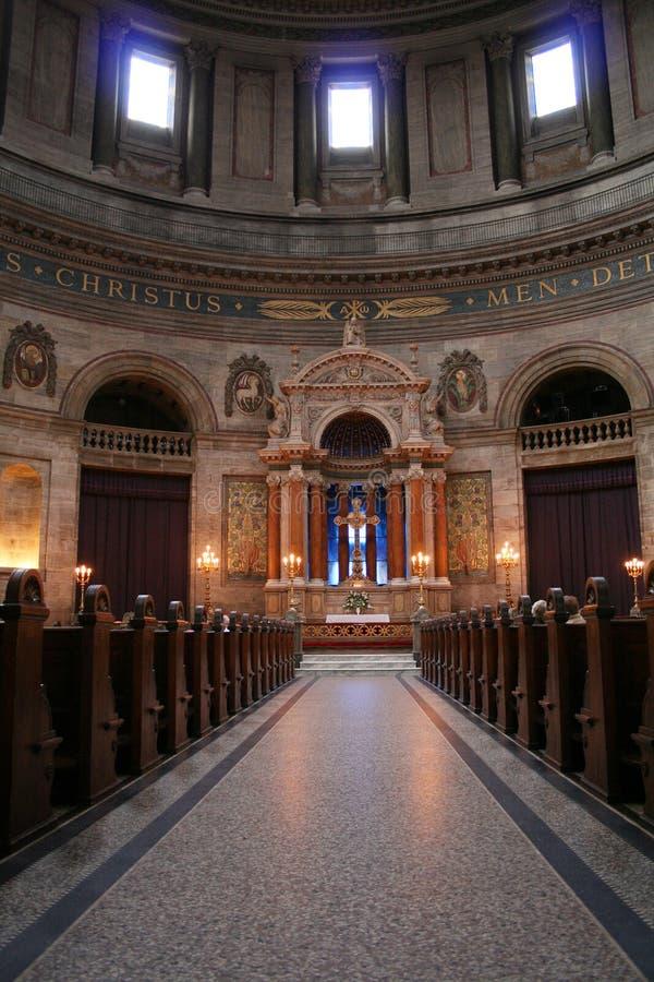 церковь marmorkirken marple стоковое изображение