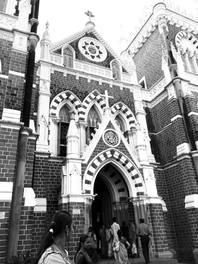 Церковь Mary горы, Bandra, Мумбай стоковые изображения rf