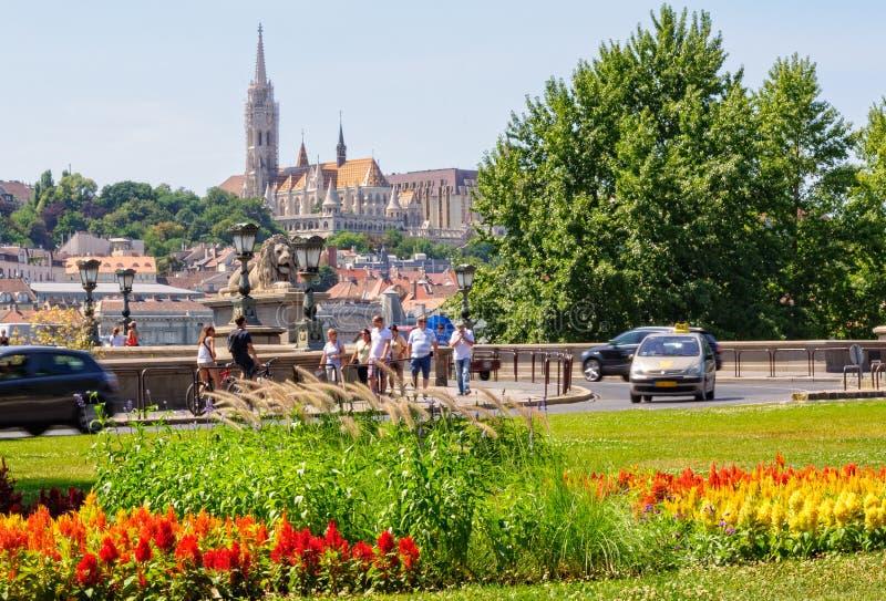 Церковь Matthias - Будапешт стоковая фотография rf