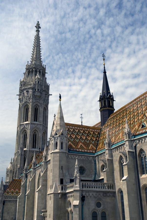 Церковь Matthias, Будапешт, Венгрия стоковая фотография