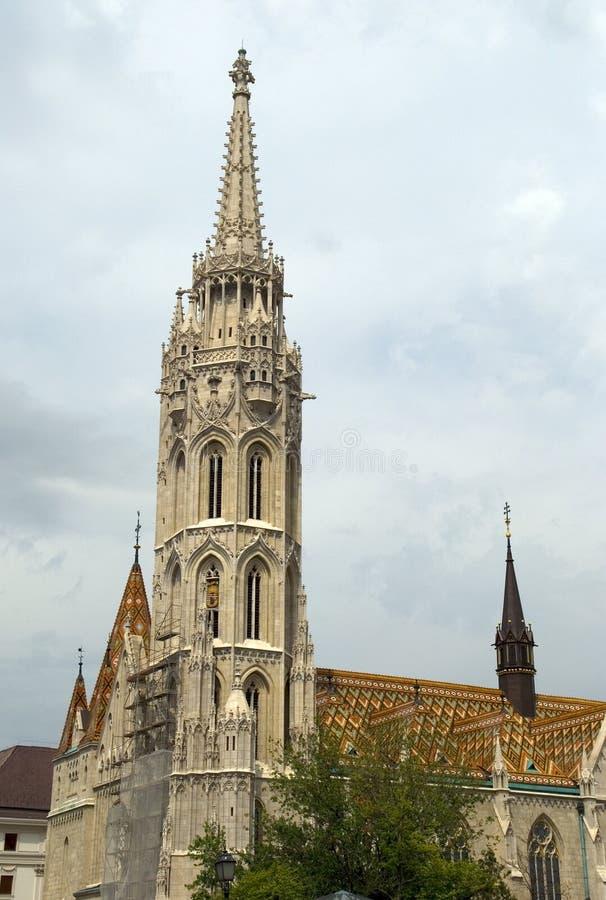Церковь Matthias, Будапешт, Венгрия стоковая фотография rf