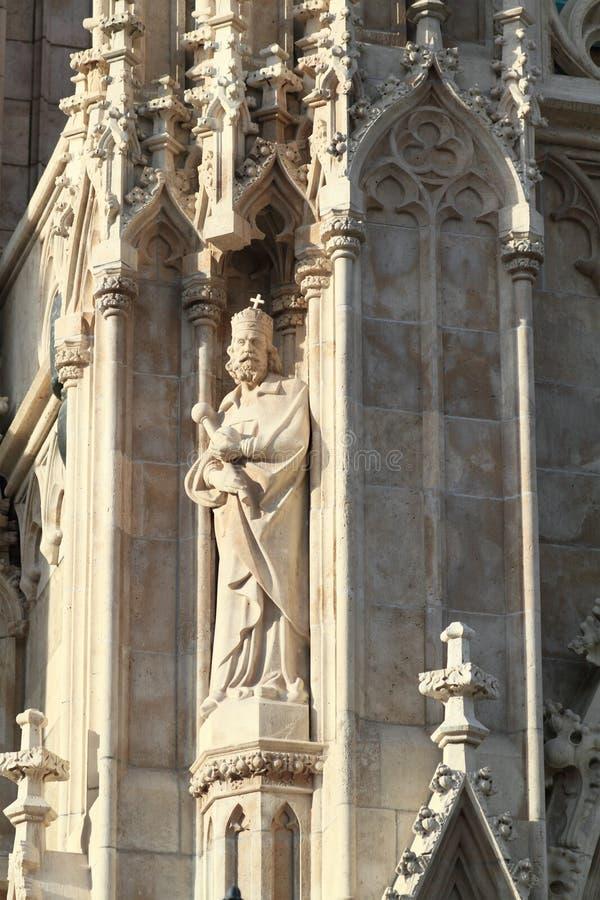 церковь matthias стоковые изображения