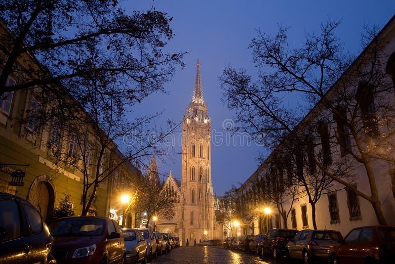 церковь matthias budapest стоковое фото