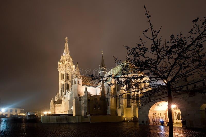 церковь matthias budapest стоковое изображение