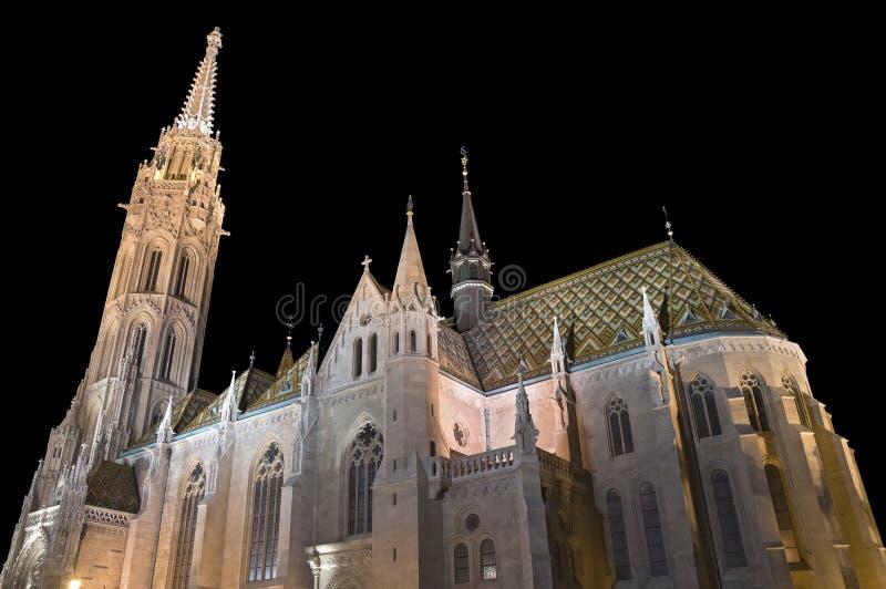 церковь matthias budapest стоковые фотографии rf