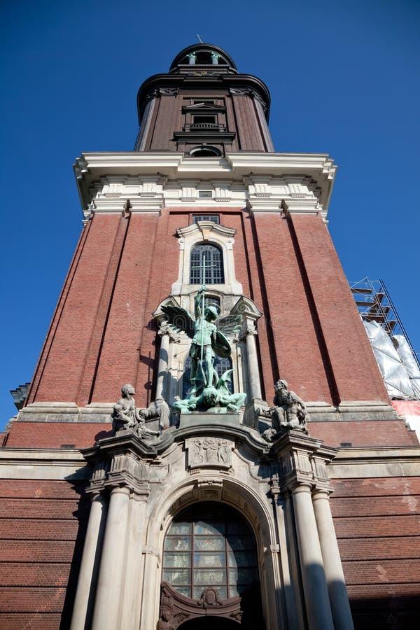 церковь michel стоковая фотография