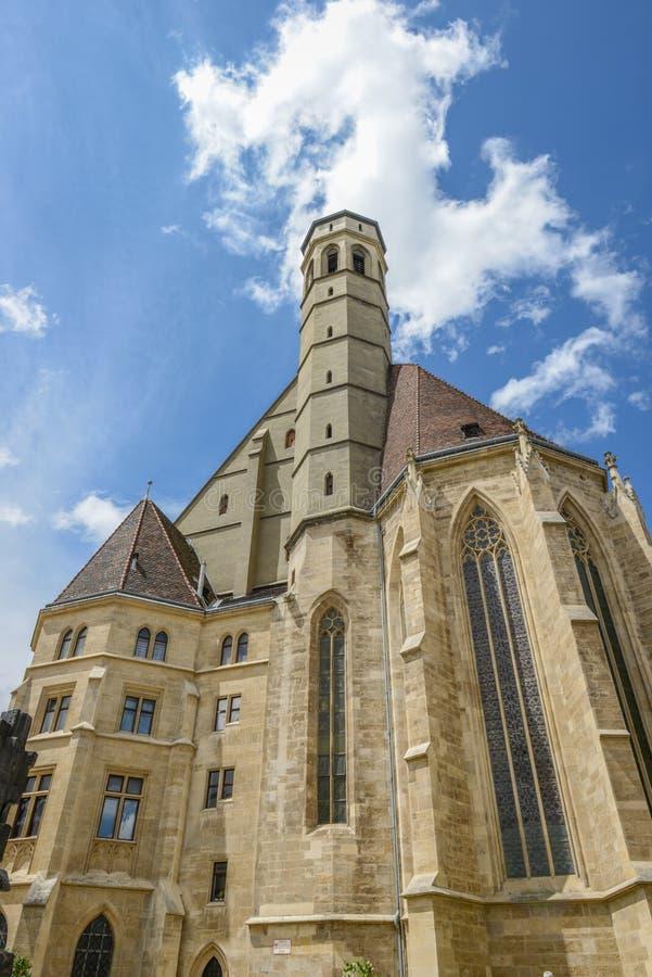 Церковь Minorites (Minoritenkirche) в вене, Австрии стоковое изображение rf