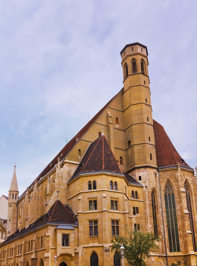 Церковь Minorites - Wien Австралии стоковое изображение