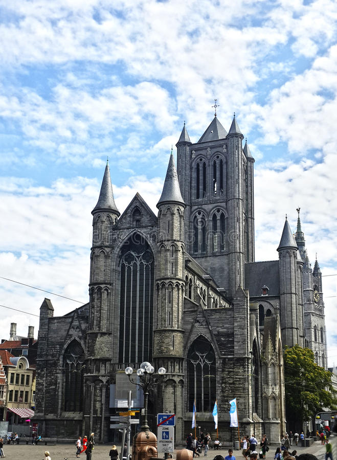 Церковь Nicholas святой стоковые изображения