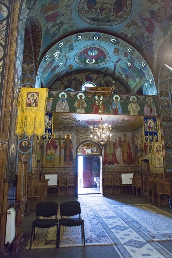 Церковь Nicolae Святого от Toplita стоковая фотография
