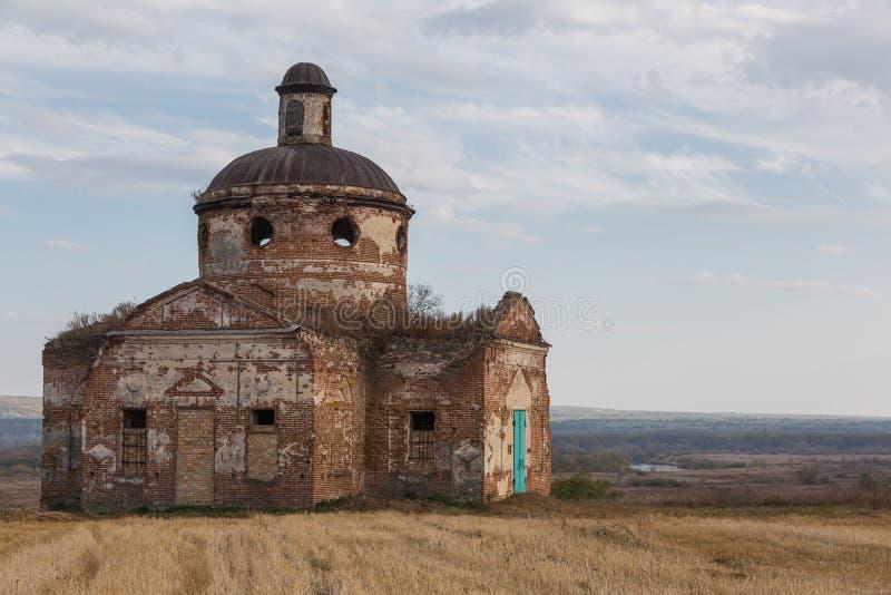 Церковь Nicolas Святого, область Пензы, Россия стоковое изображение