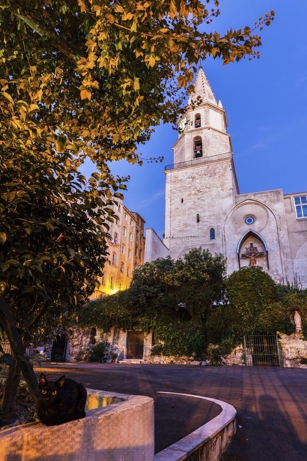 церковь Notre-Дам-des-Accoules в марселе стоковая фотография rf