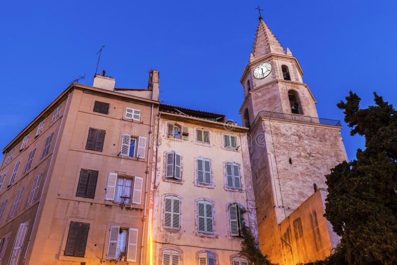 церковь Notre-Дам-des-Accoules в марселе стоковая фотография