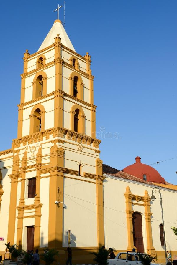 Церковь Nuestra Senora de Ла Soledad в Camaguey, Кубе стоковые фотографии rf