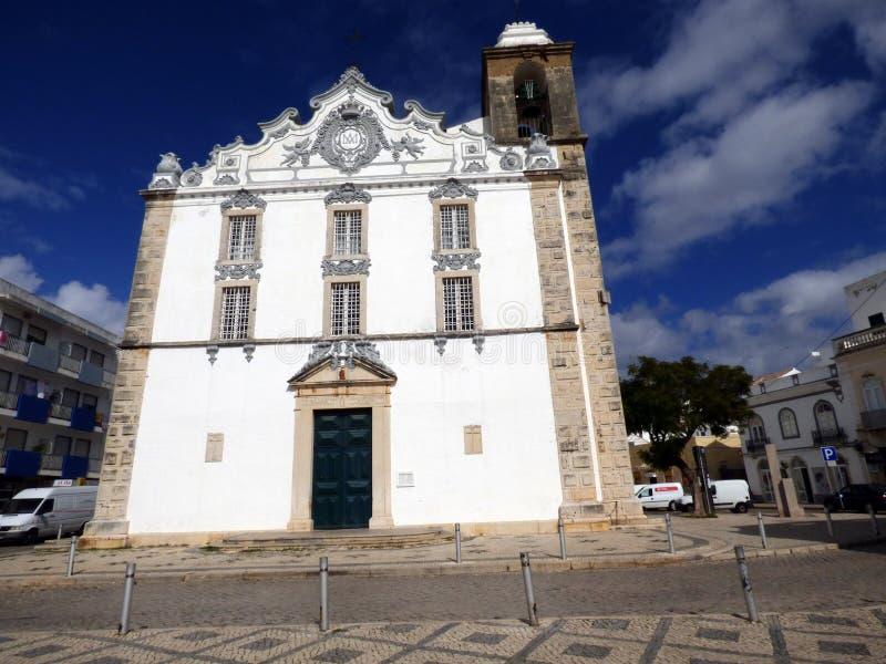 Церковь Olhao стоковые фотографии rf