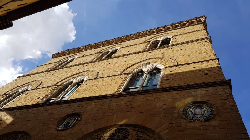 Церковь Orsanmichele, Флоренс, Тосканы, Италии стоковые изображения