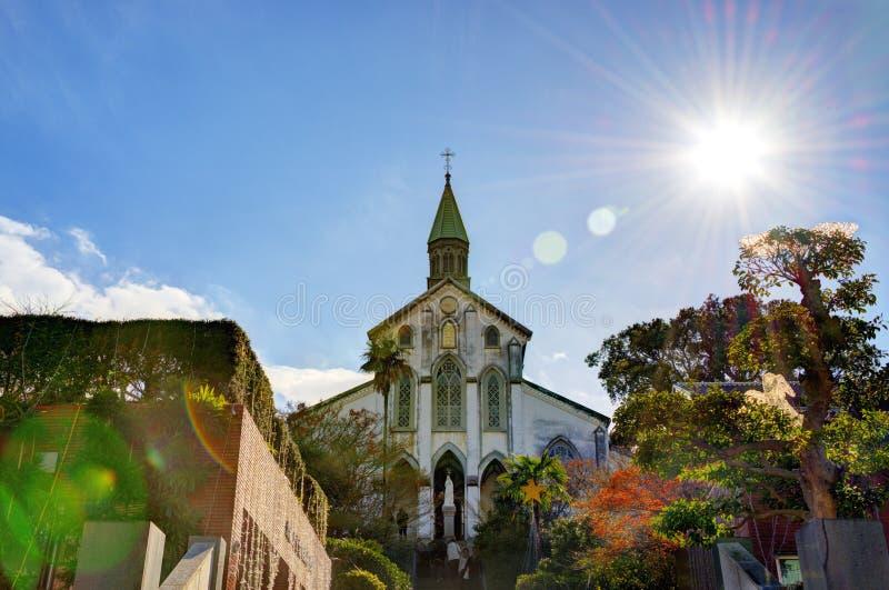 Церковь Oura стоковые фотографии rf