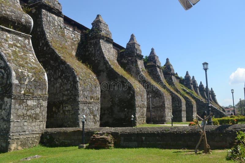 Церковь Paoay стоковое фото rf