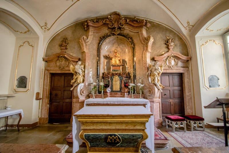 Церковь Piarist в вене, Австрии стоковые изображения rf