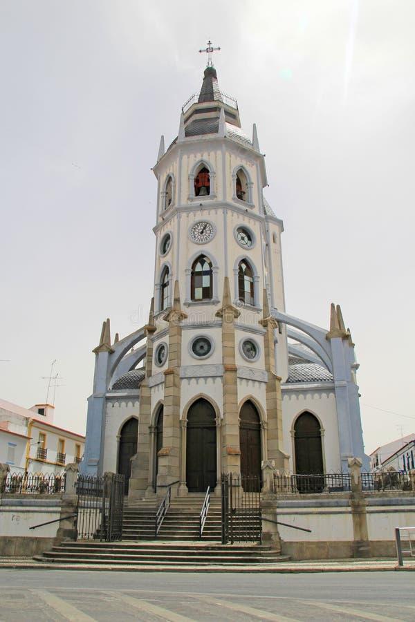 Церковь Reguengos de Monsaraz, Португалии стоковая фотография