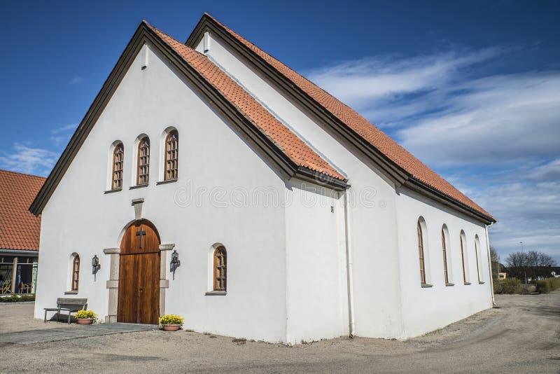 Церковь Rolvsøy (часовня) (2) стоковое изображение