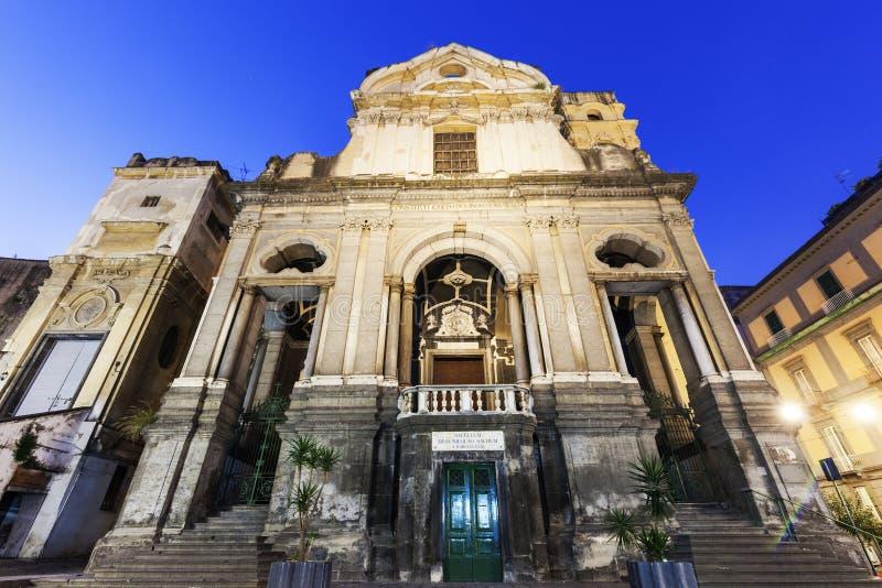 Церковь Ruffi dei Сан Giuseppe в Неаполь стоковое фото rf