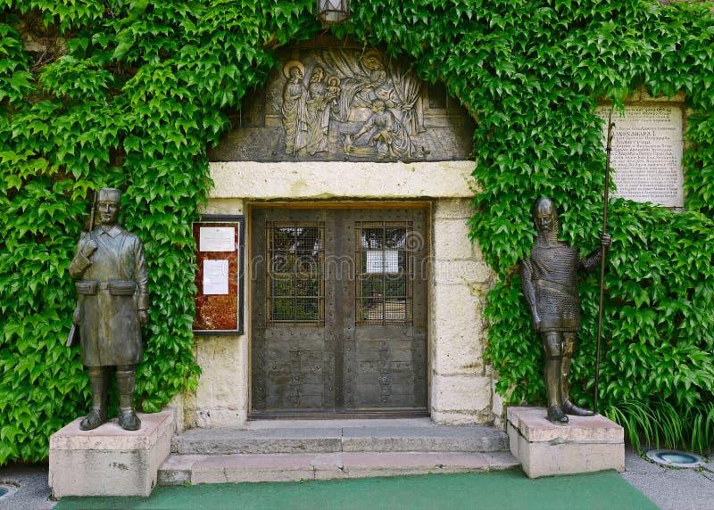 Церковь Ruzica, крепость Белграда, Белград, Сербия стоковое фото