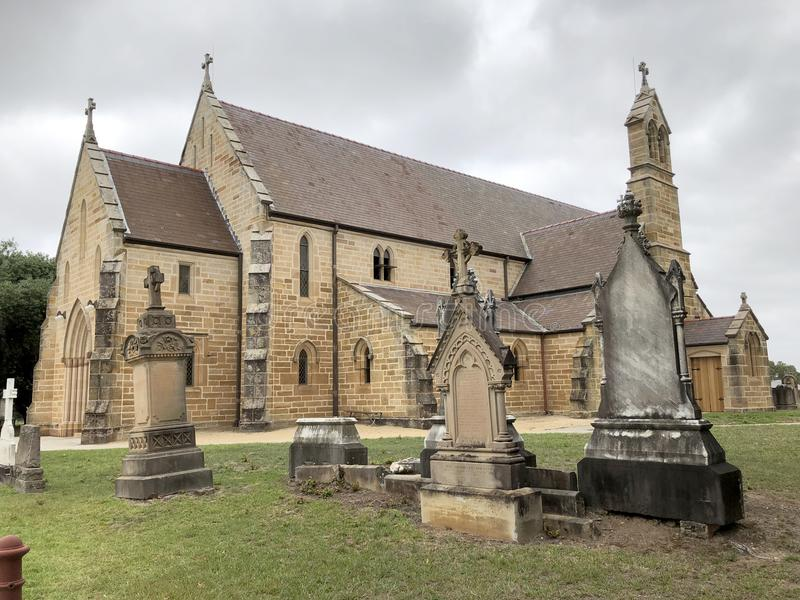 Церковь Ryde St Charles стоковая фотография