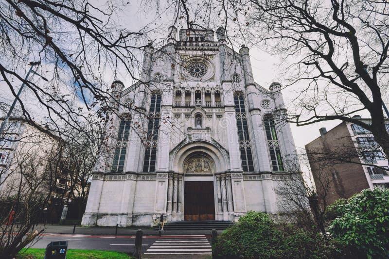 Церковь ` s St Anne в Генте стоковая фотография