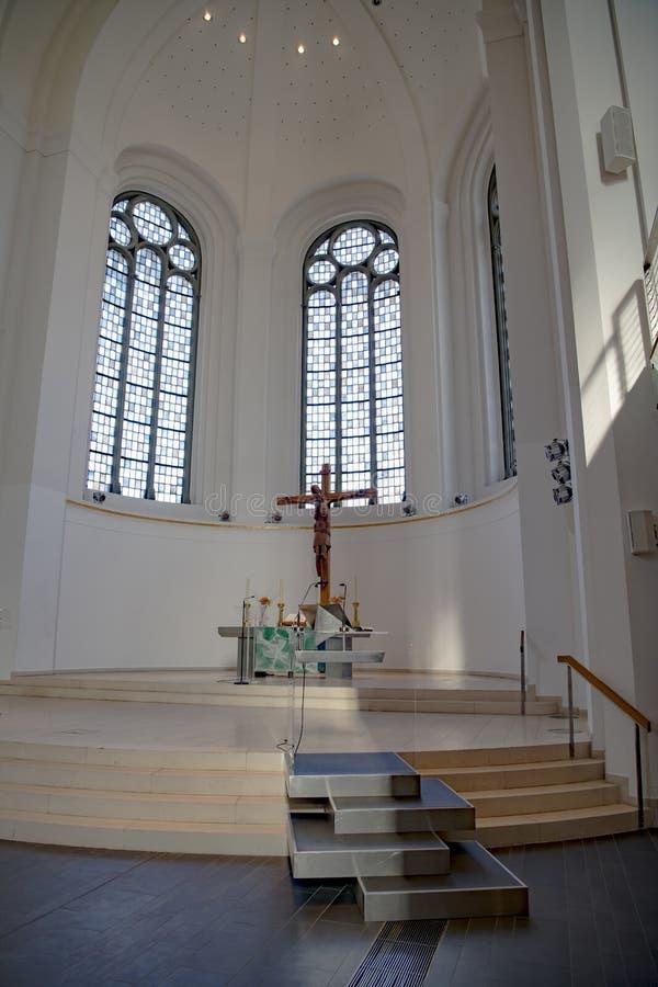 Церковь ` s St. John, протестантская церковь, Дюссельдорф, Германия стоковое фото rf