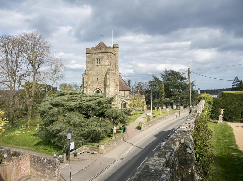 Церковь ` s St Mary, сражение, Сассекс, Великобритания стоковое фото