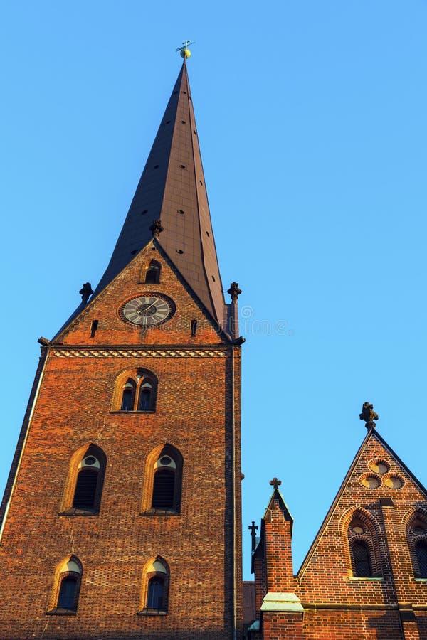 Церковь ` s St Peter в Гамбурге стоковая фотография rf