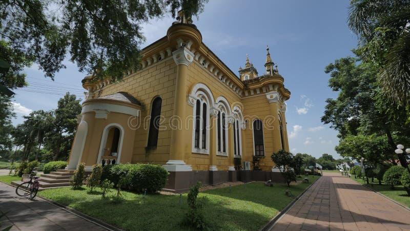 Церковь ` s StJoseph в Ayutthaya, Таиланде стоковое фото rf