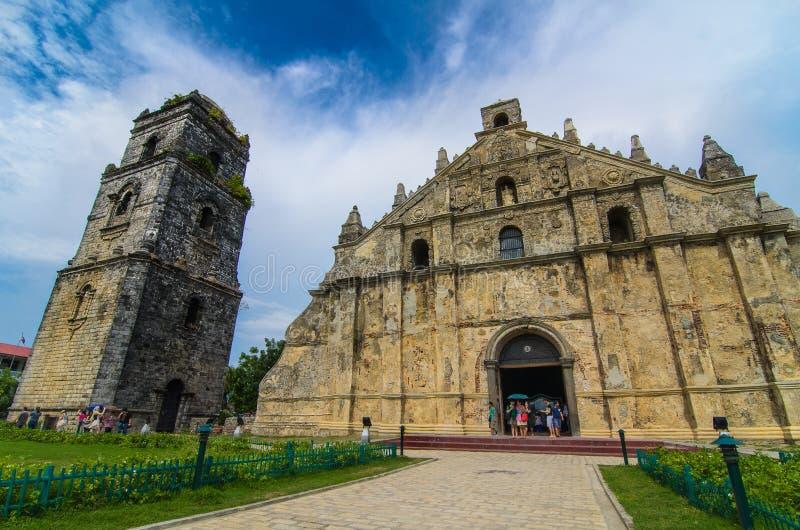 церковь san agustin стоковое фото
