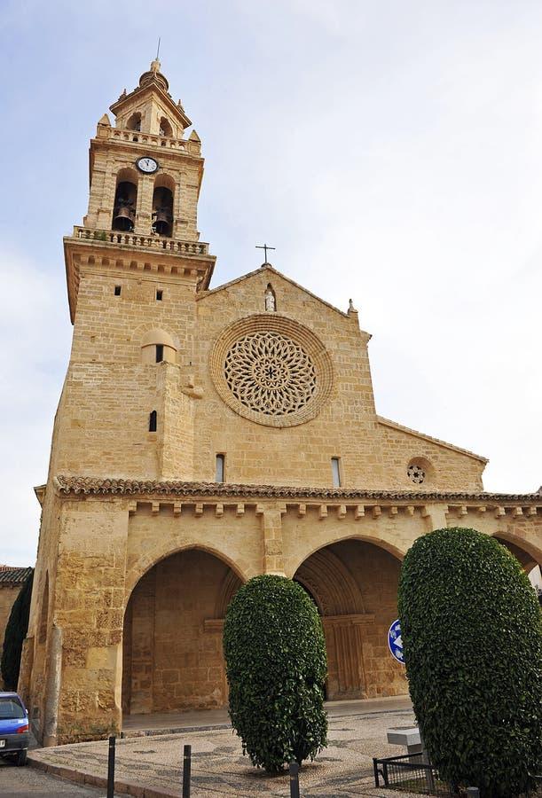 Церковь San Lorenzo, Cordoba, Испании стоковое изображение