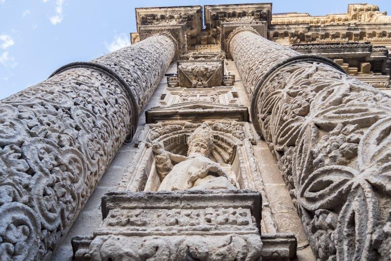 Церковь San Miguel, Ла Frontera Jerez de, Испания стоковая фотография