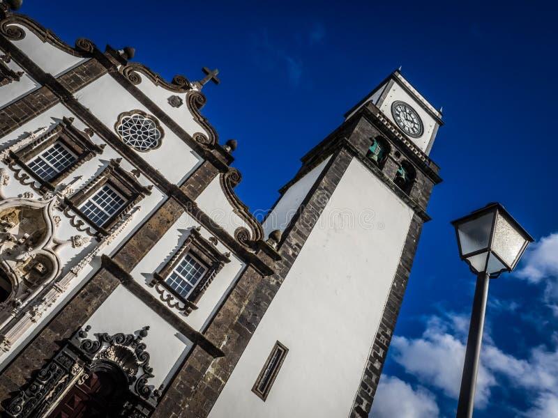 церковь san sebastian стоковые фото