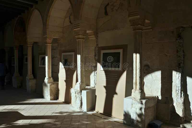 Церковь Sant Francesc-Vilafranca del Penedès стоковые изображения