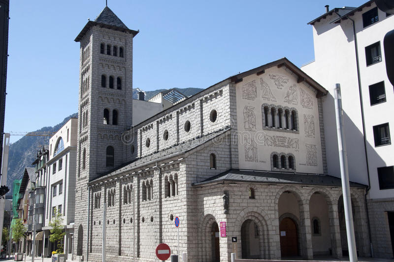 Церковь Sant Pere Martir стоковое фото rf