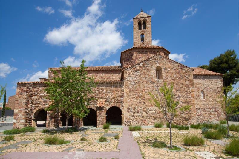 Церковь Santa Maria в Terrassa стоковая фотография rf