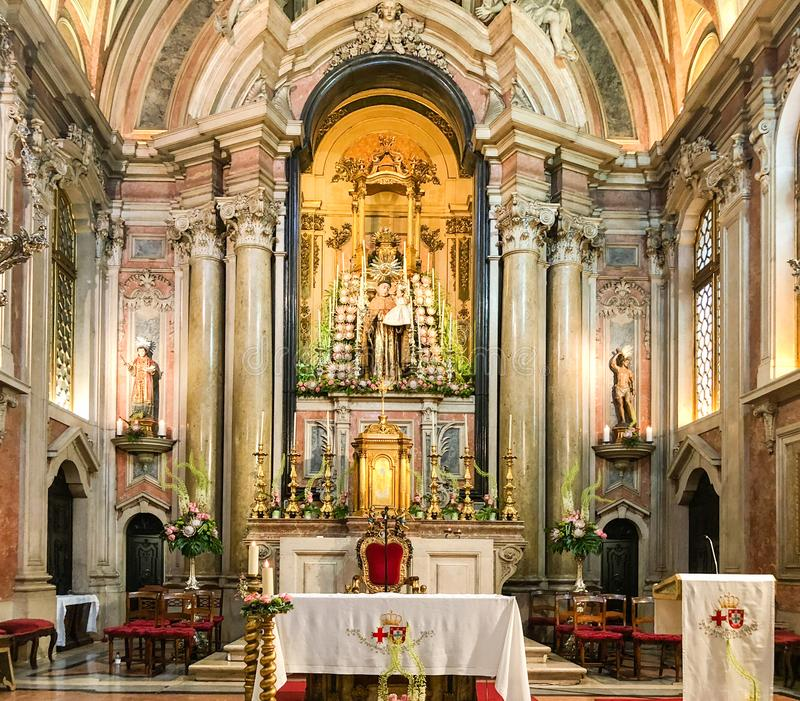 Церковь Santo Антонио, Лиссабон, Португалия