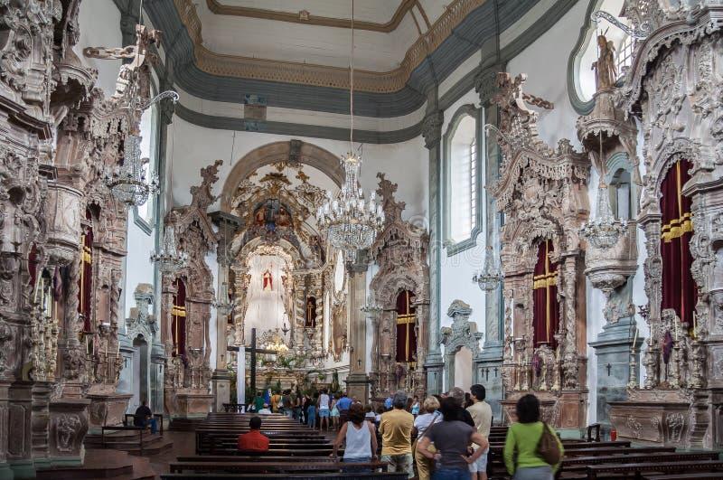 Церковь Sao Francisco de Assis стоковые фото