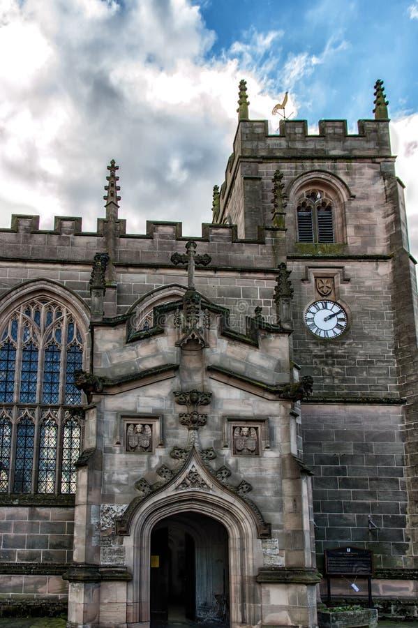церковь saxon Стратфорд-на-Эвона стоковые изображения