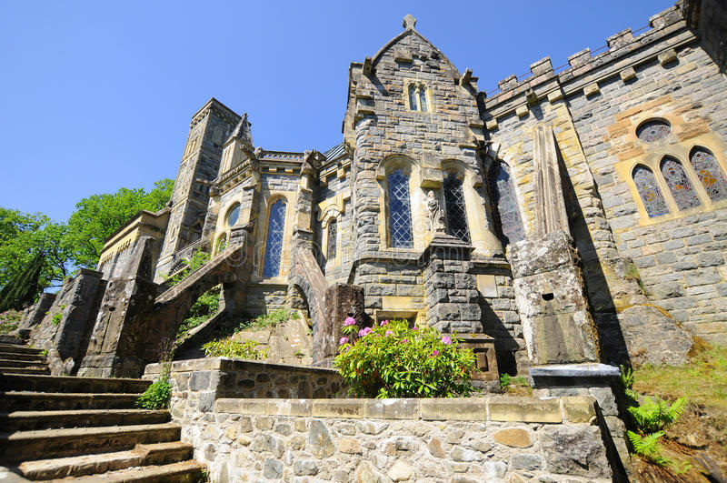 Церковь scottish Ola стоковая фотография rf
