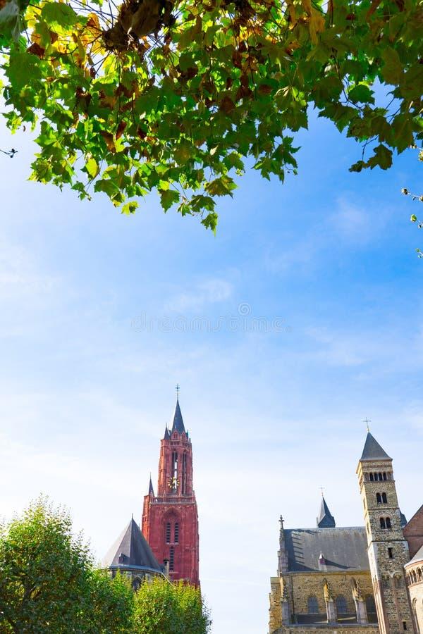 Церковь Sint Jans и Sint Servaas, Маастрихт, Нидерланд стоковая фотография
